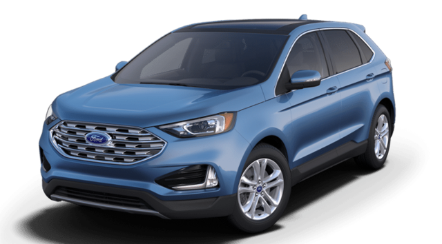 New 2019 Ford Edge SEL Crossover 2FMPK4J93KBC33462 in Rochester, New York, at West Herr Ford of Rochester